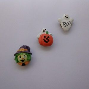 Vintage Halloween Button Covers